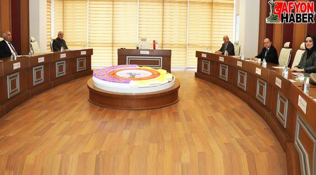 Sinanpaşa OSB Yönetim Kurulu toplandı
