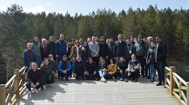 TÜRSAB'a bağlı 120 seyahat acentesi temsilcisi Akdağ'ı gezdi