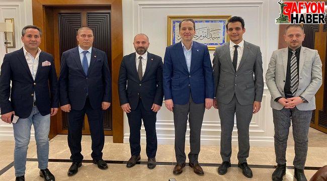 Y.Refah Partisi Afyonkarahisar Heyeti, Fatih Erbakan ile görüştü