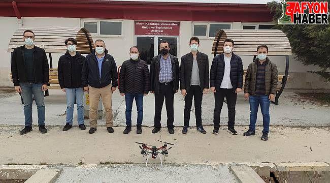 Yapay zekalı drone ile kiraz bahçeleri ilaçlanacak