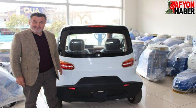 Yerli ve milli Cleanvacyol süpürme ve taşıma araçları Afyon'da