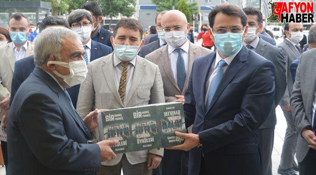 Afyon'da ceza infaz kurumu kütüphaneleri için kitap bağışı kampanyası başlatıldı