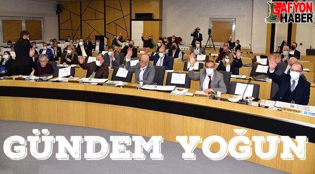 Afyonkarahisar Belediye Meclisi toplanıyor