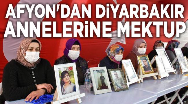 Afyonkarahisar'dan Diyarbakır annelerine mektup