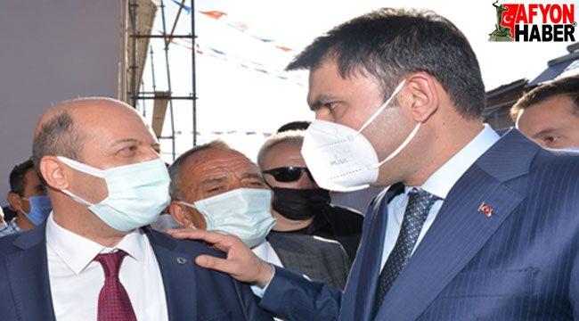 Bakan Kurum'dan, Başkan Bozkurt'un projelerine destek