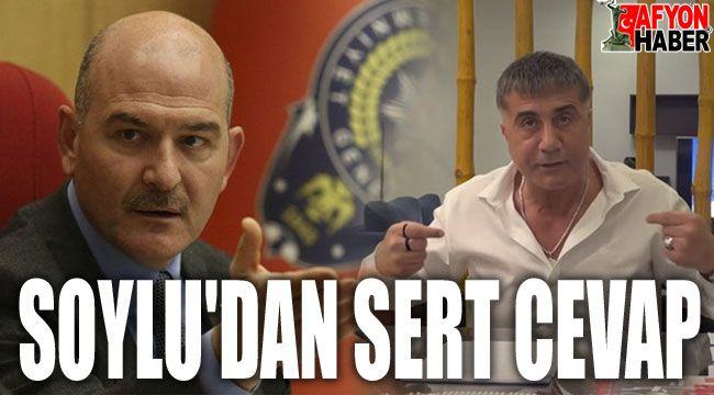 Bakan Soylu'dan Sedat Peker'e sert cevap!..