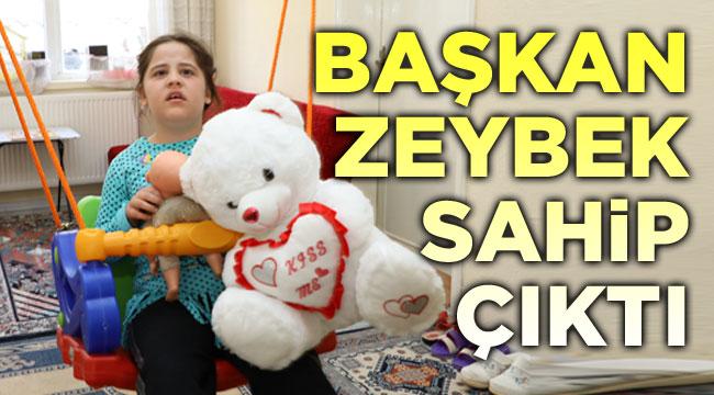 Başkan Zeybek, Hayrunnisa'ya sahip çıktı