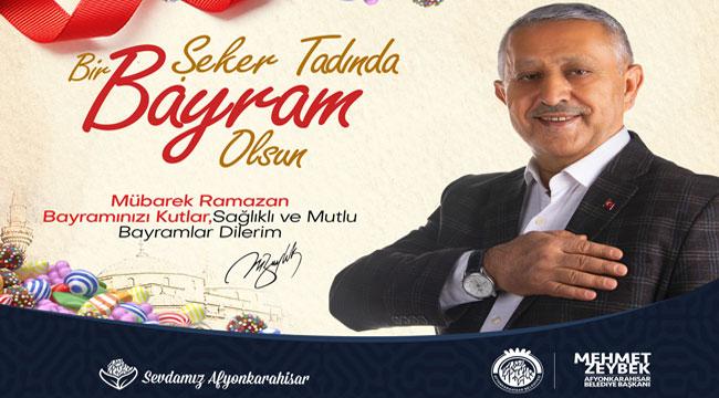 Başkan Zeybek'in Bayram mesajı