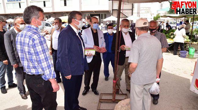 Başkan Zeybek'ten Kandil ziyareti