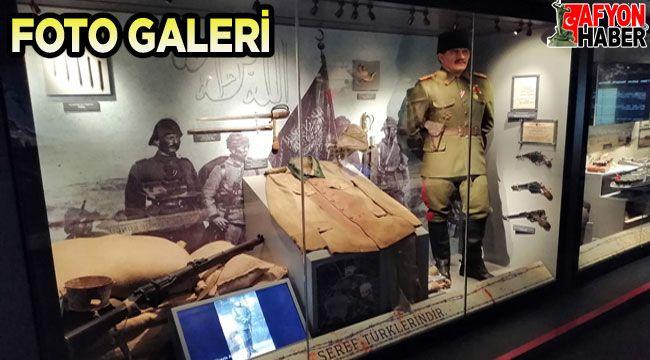 Çanakkale Savaşları Mobil Müzesi Afyon'da ziyarete açıldı