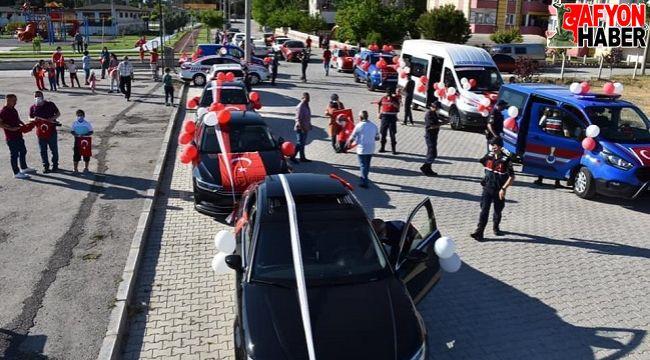 Dazkırı'da 19 Mayıs Gençlik Konvoyu