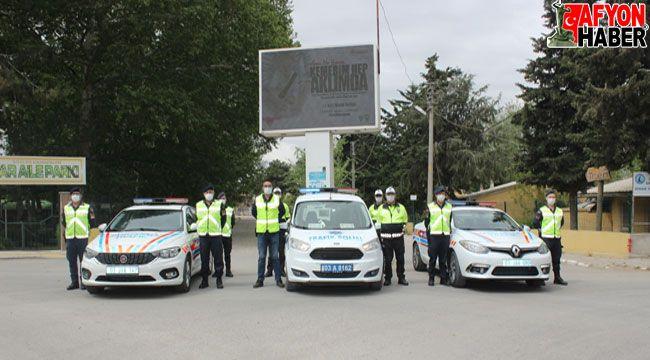 Dinar'da Trafik Haftası etkinliği yapıldı