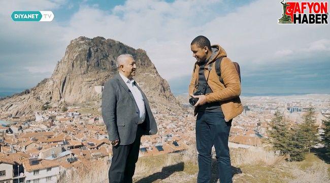 Diyanet TV Misafir Programı Afyon'da çekim yaptı