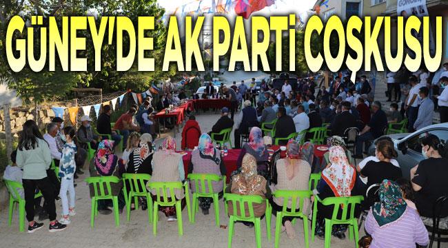 Güney'de AK Parti coşkusu!..