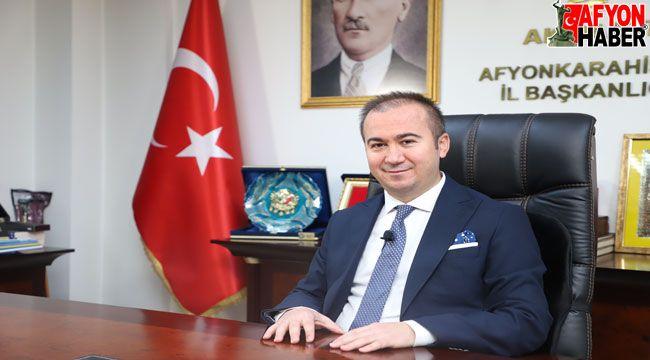 Hüseyin Ceylan Uluçay'ın Atatürk'ü Anma, Gençlik ve Spor Bayramı mesajı