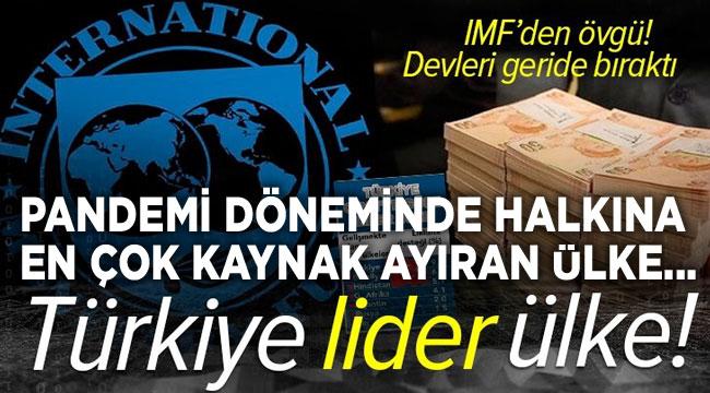 IMF'den övgü: Salgın döneminde halkına en çok desteği veren ülke Türkiye oldu