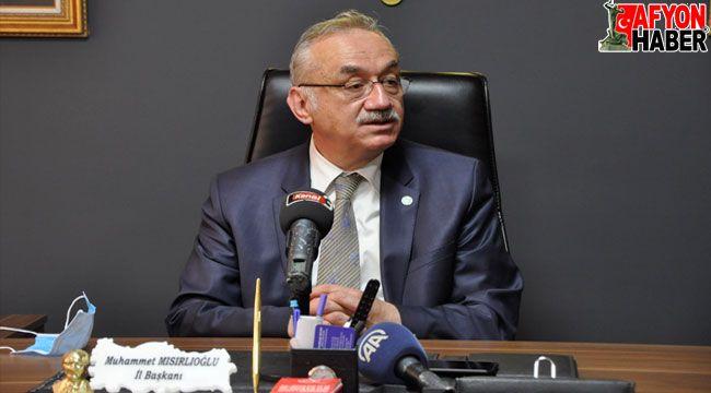 İYİ Parti Grup Başkanı Tatlıoğlu, Afyon'da konuştu