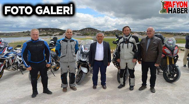 Motosiklet markalarının Türkiye yöneticileri Frig Vadisi'ni gezdi