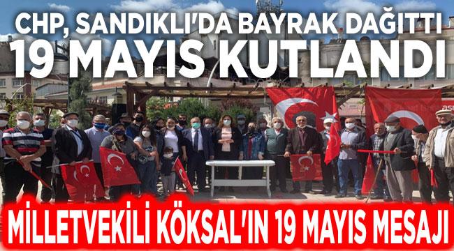 Sandıklı'da 19 Mayıs'a bayraklı kutlama!..