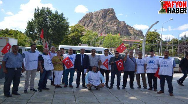 Türkiye Kamu Sen İl Temsilcilisi Mehmet Demir'in 1 Mayıs açıklaması