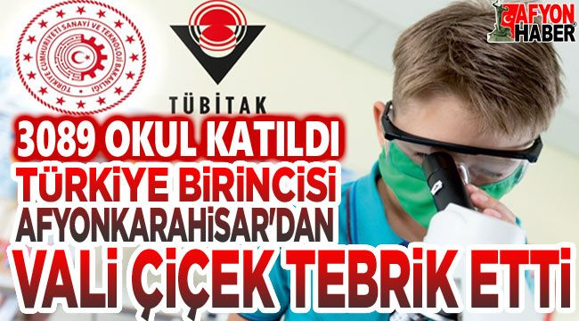 3089 okul arasında Türkiye şampiyonu Afyon'dan!..