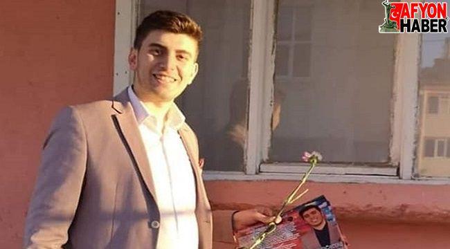 Afyon'un en genç muhtarı trafik kazasında vefat etti