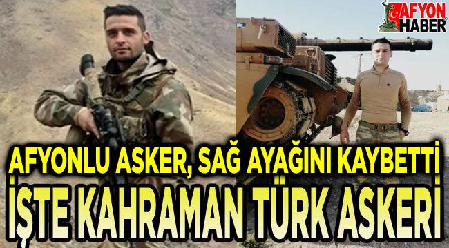 Afyonlu askerin büyük kahramanlığı!..