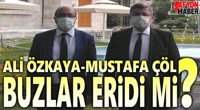 Ali Özkaya - Mustafa Çöl... Buzlar eridi mi?..
