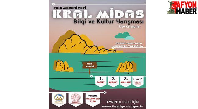 Frig Medeniyeti Kral Midas 1. Bilgi ve Kültür Yarışması gerçekleştirildi