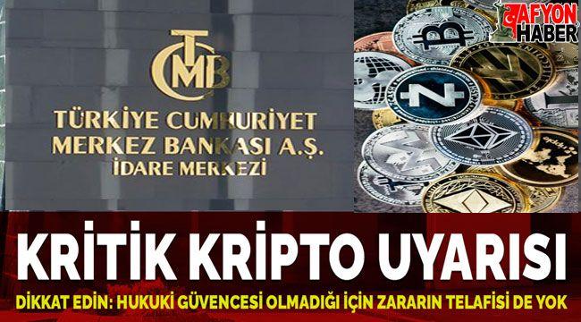 Kripto para uyarısı: Yasal güvencesi olmadığı için zararın telafisi yok