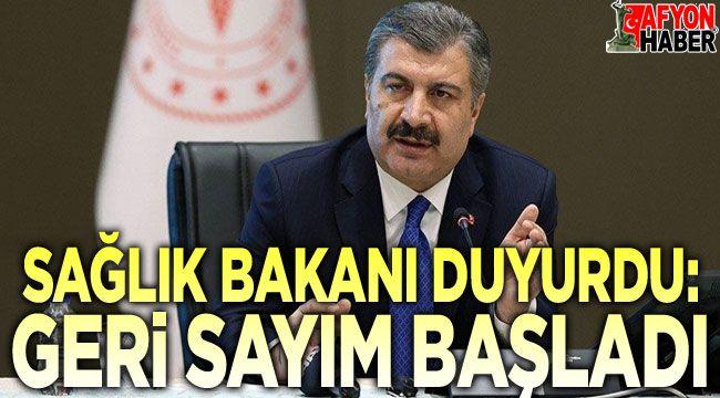 Sağlık Bakanı duyurdu: Geri sayım başladı!..