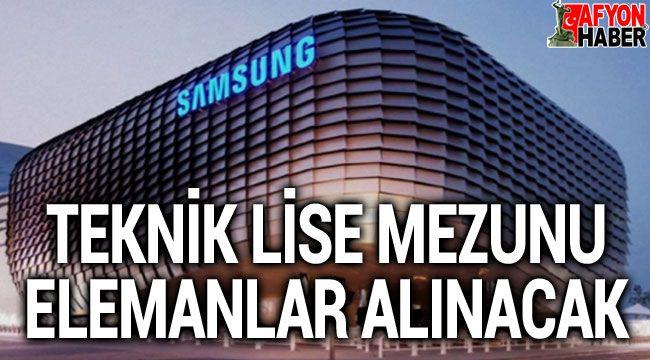 Samsung, teknik lise mezunu elemanlar alacak