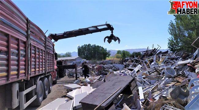 Sandıklı Belediyesinin 65 bin ton hurdası MKE'ye gönderilecek!..