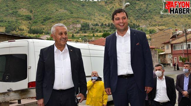 Uşak Belediye Başkanı Afyon'da
