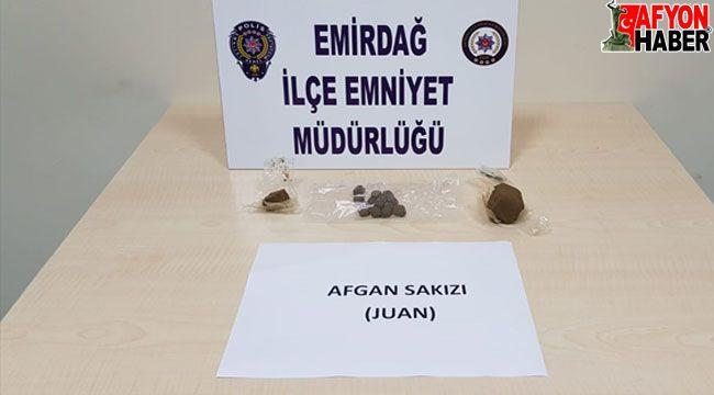 Afyon'da uyuşturucu operasyonunda yakalanan 2 şüpheli, serbest bırakıldı