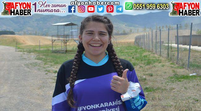 Irmak Yıldırım, Motokros şampiyonasında Türkiye'yi temsil edecek