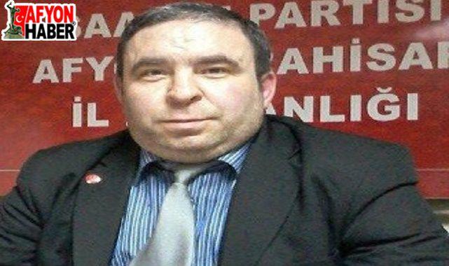 Saadet Partili Erhan Akpınar: Ödediğimiz vergiler faize gidiyor