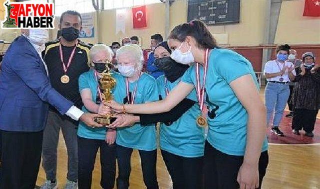 Sandıklı'da gerçekleştirilen 'Goalball Turnuvası' sona erdi