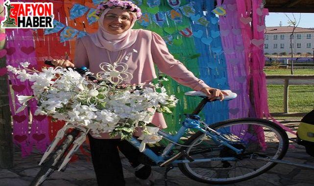 Süslü Kadınlar Bisiklet Turu Afyon'da yapılacak