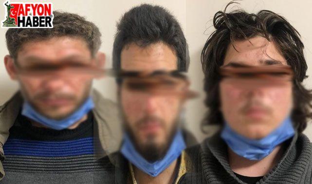Afyonkarahisar polisinden nefes kesen DEAŞ operasyonu