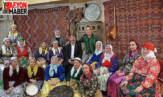 Sümer Ezgü, Dinar'da çekim yaptı