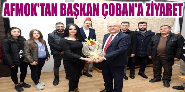 AFMOK'TAN BAŞKAN ÇOBAN'A ZİYARET