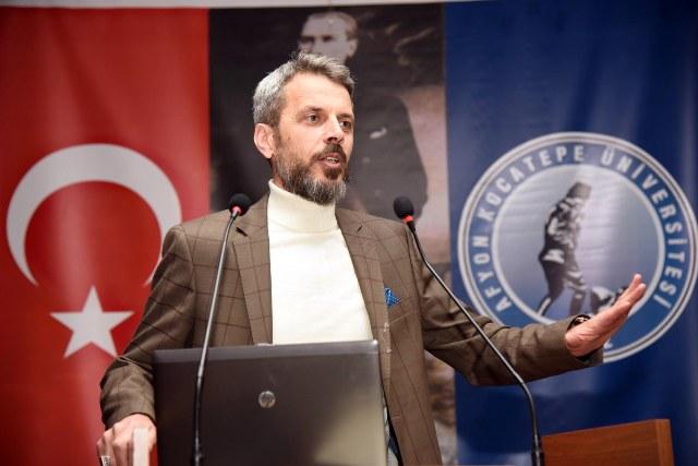 AFYON KOCATEPE ÜNİVERSİTESİ PROF. DR. ERDOĞAN BOZ'U KONUK ETTİ