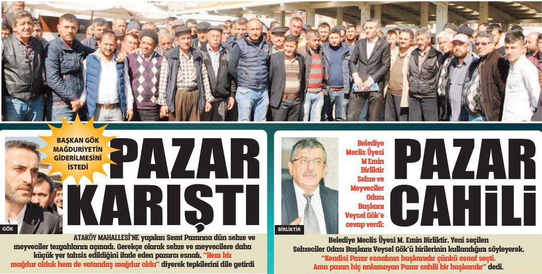 ATAKÖY PAZARI KARIŞTI, SEBZECİ ESNAFI TEZGAH AÇMADI, BİRLİKTİR SERT ÇIKTI!..