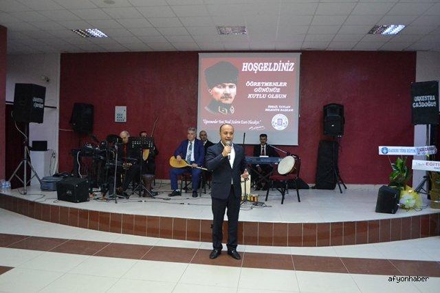 DAZKIRI'DA 24 KASIM ÖĞRETMENLER GÜNÜ KUTLAMA PROGRAMI