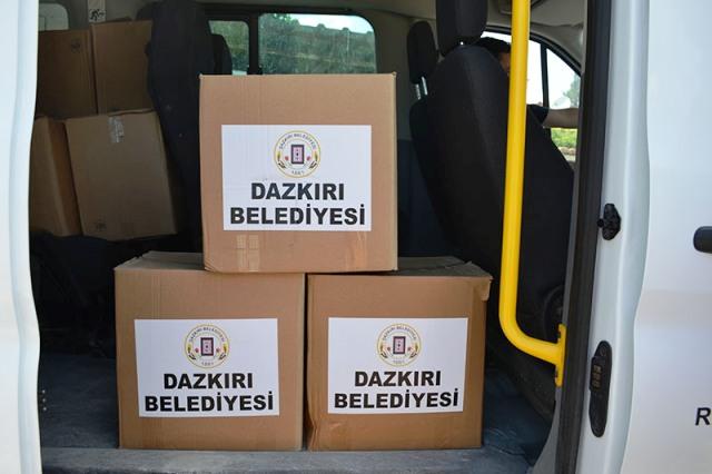 DAZKIRI'DA İHTİYAÇ SAHİPLERİNE RAMAZAN PAKETİ DAĞITILDI