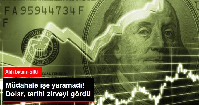 DOLAR YİNE REKOR KIRDI!
