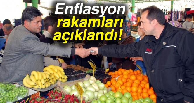 ENFLASYON RAKAMLARI AÇIKLANDI!