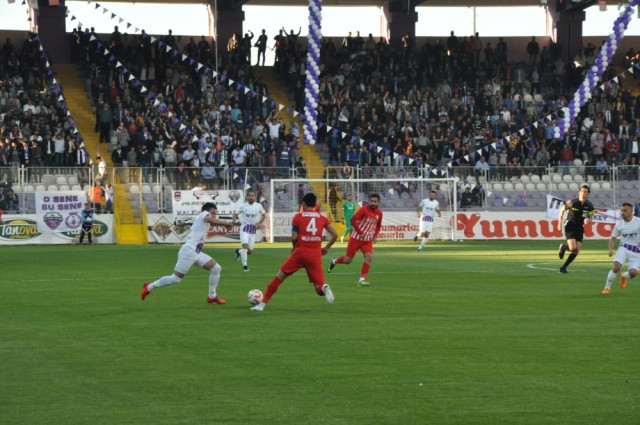 AFJET AFYONSPOR PLAY-OFF YARI FİNALDE:3-2