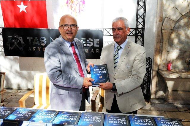 'AFYONKARAHİSAR KÜLTÜR SÖZLÜĞÜ' KİTABI YAYINLANDI